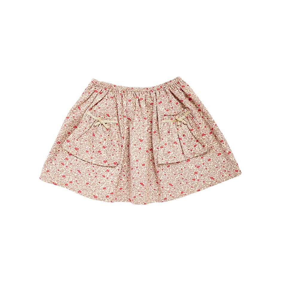 Cord studio skirt