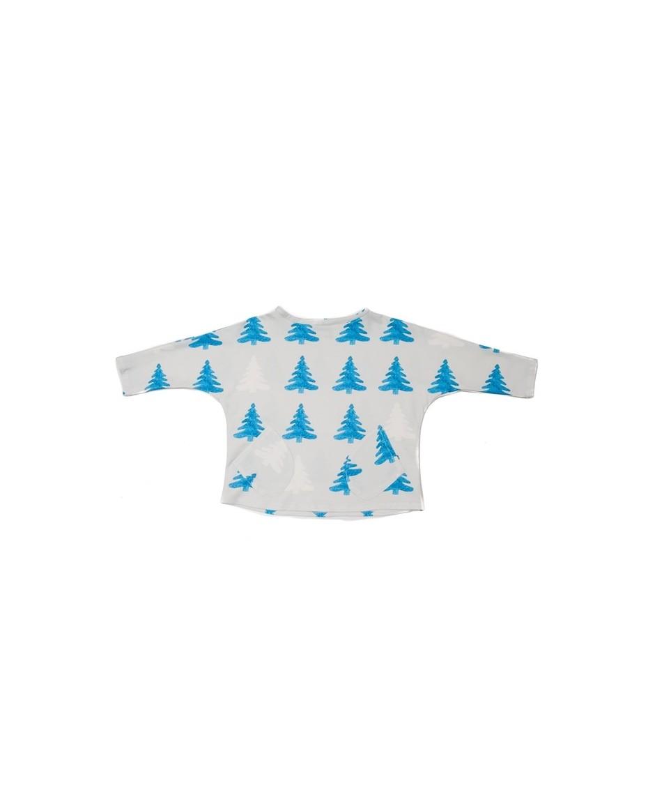 PERFECT DAYS Camiseta árboles unisex