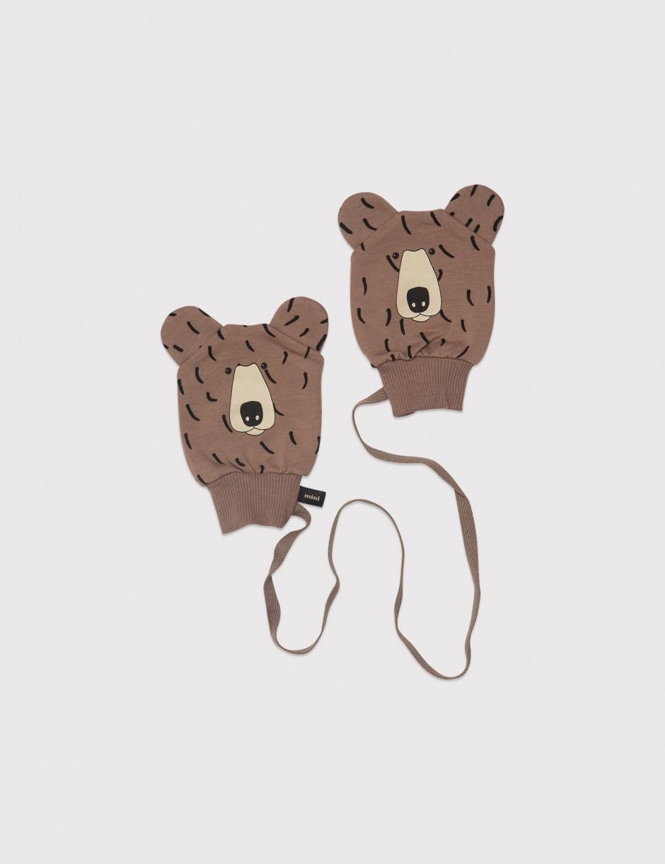 Bear Baby Glove Brown