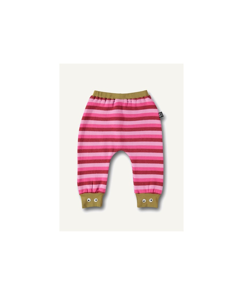 Baby pants - pink stripes