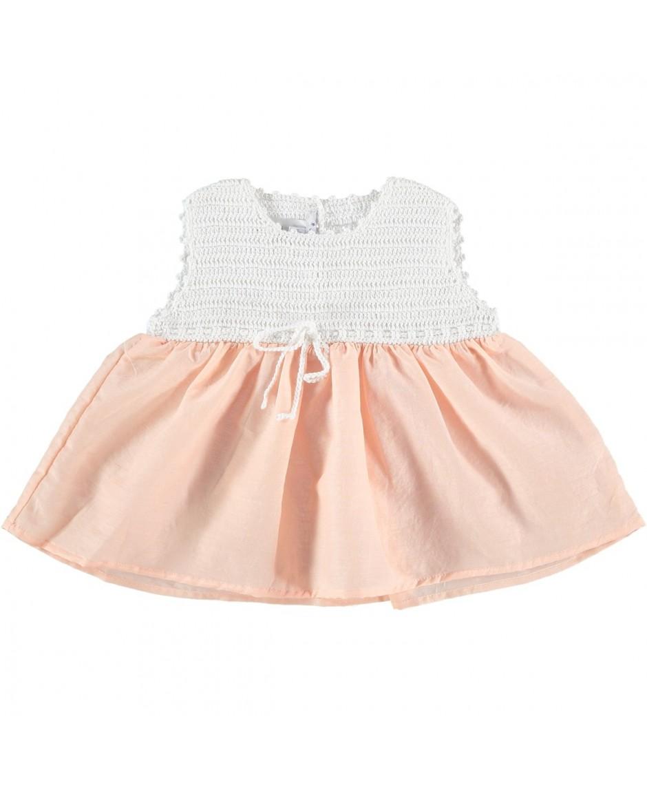 Vestido seda/algodón Marlow