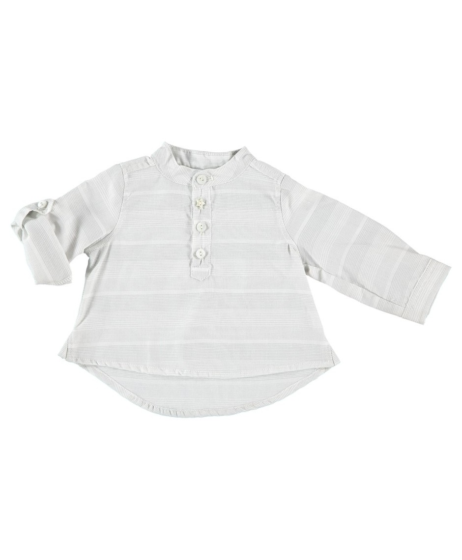 Vestido seda/algodón Bianca