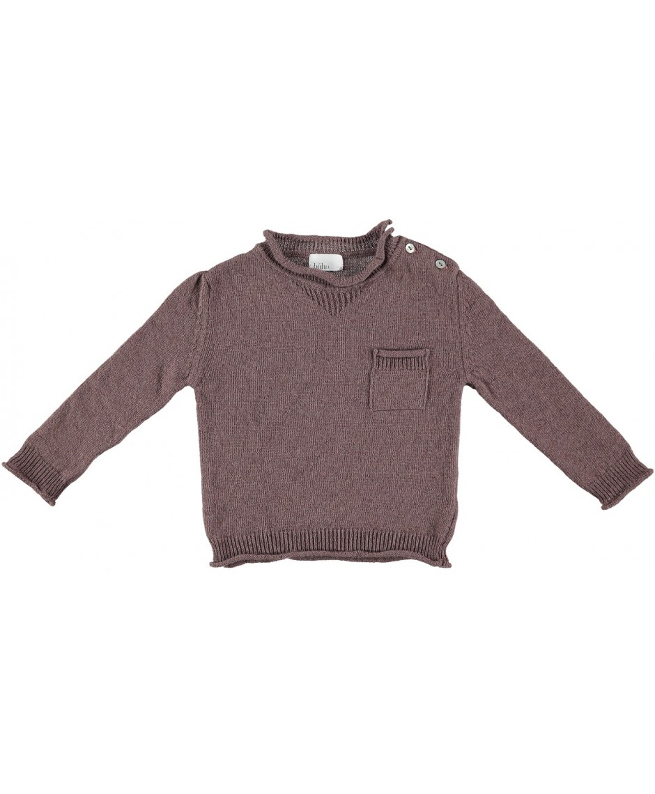 Pullover Charlie color terracotta