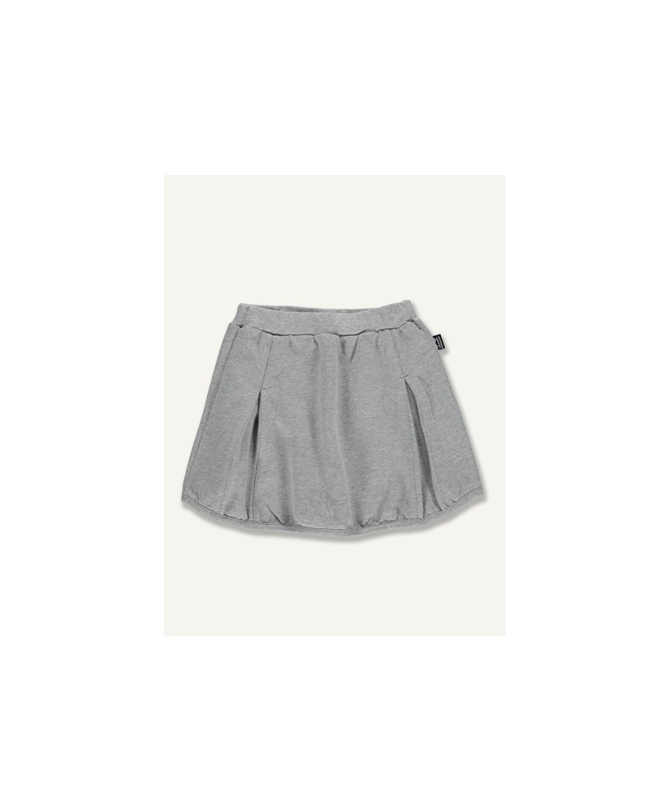 FALDA GIRLS PLEATED / GRIS