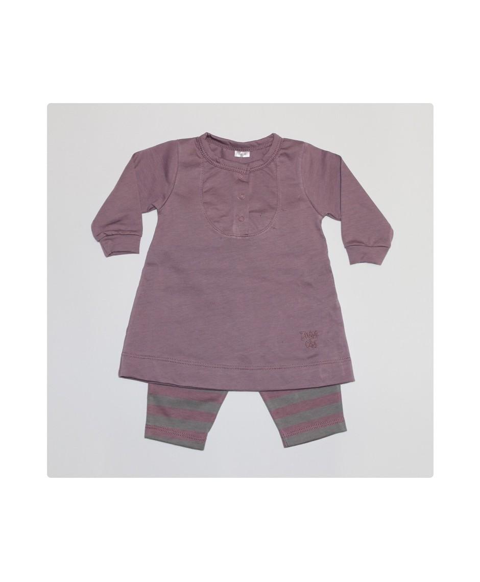 Vestido urban + leggins