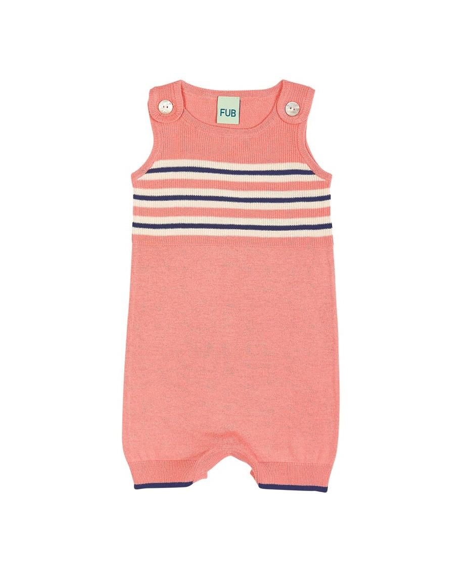 Baby Romper Suit / Rosa