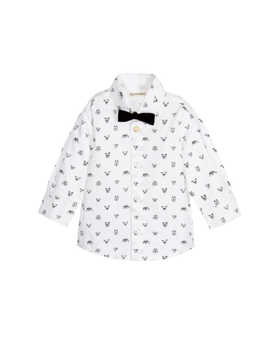 Camisa + Lazo / Blanco