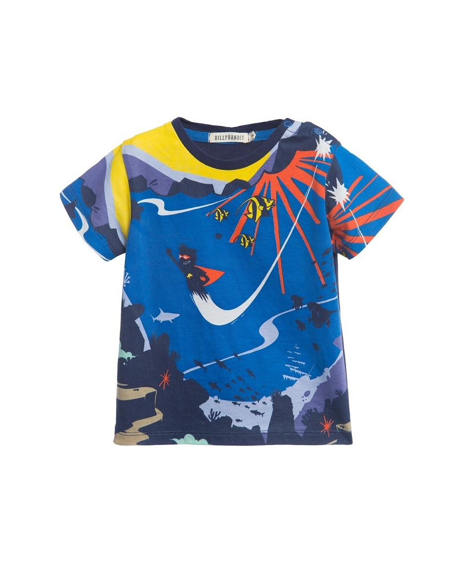 Camiseta Animales / Marfil