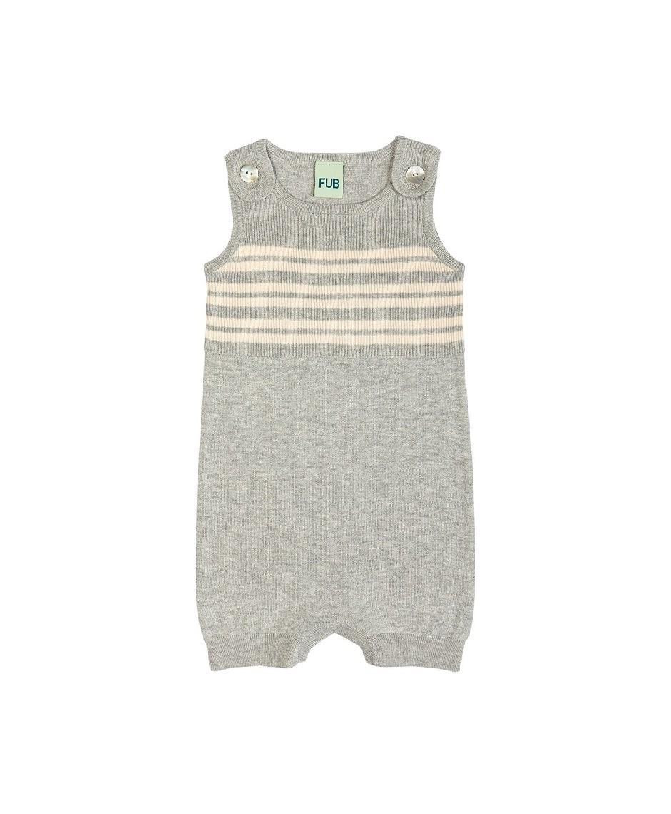Baby Romper Suit / Gris