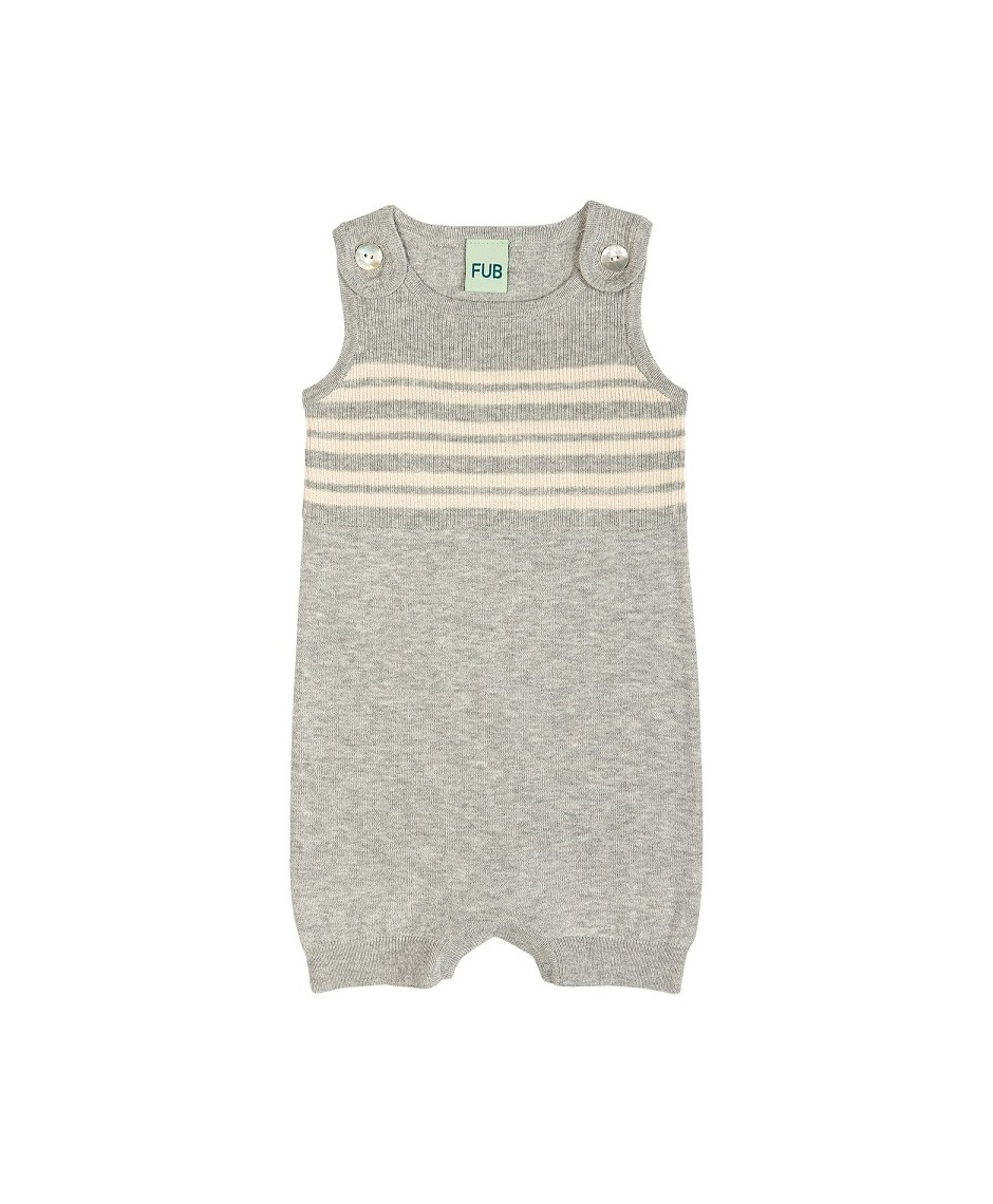 Bodysuit ecru/grey