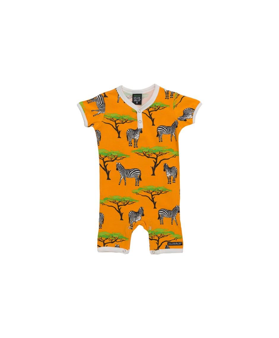 Bodysuit Cebra / Naranja