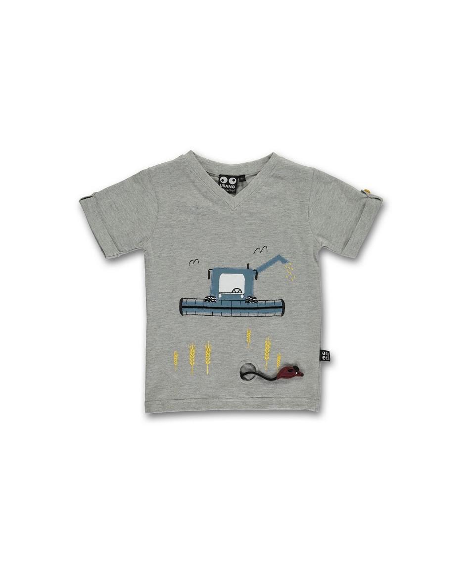 Camiseta Cosechadora / Grey