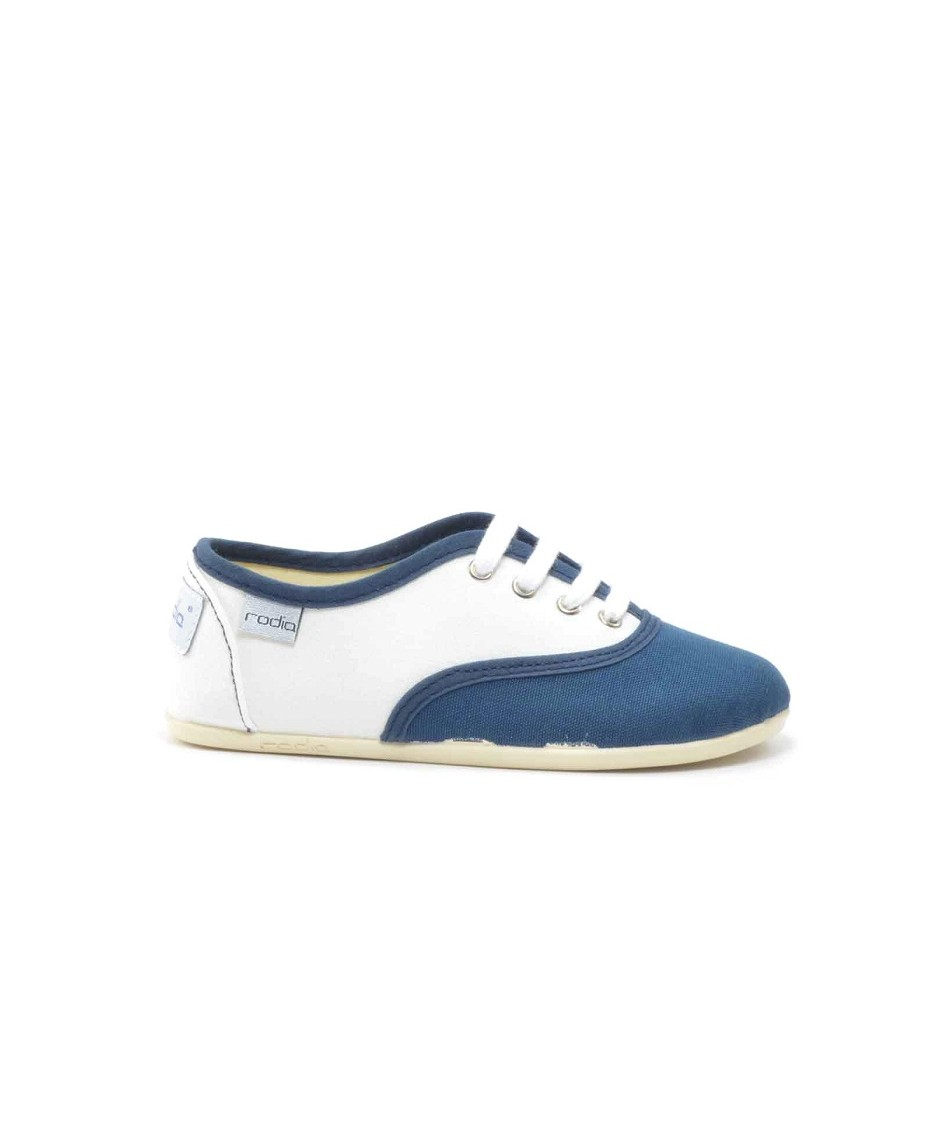 Sneakers navy white
