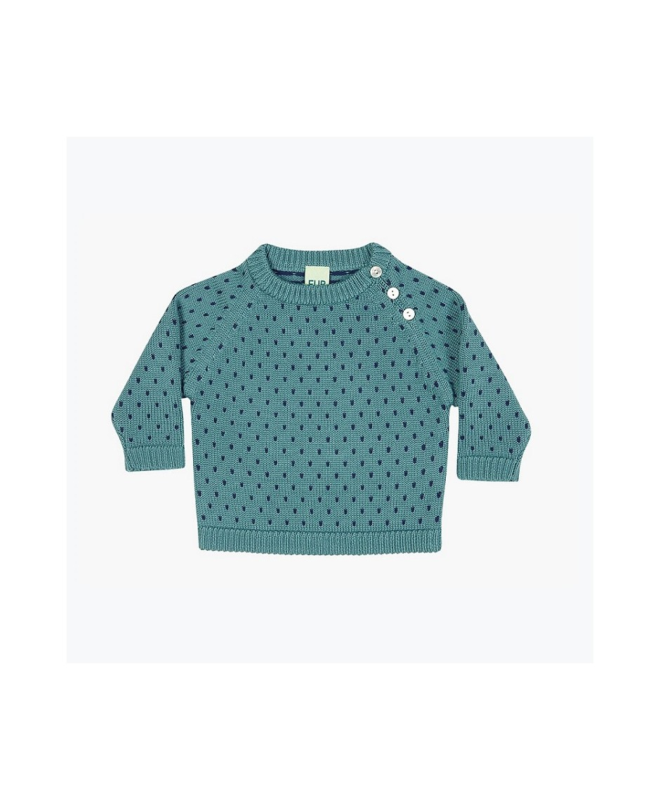 fub baby snow sweater / jade