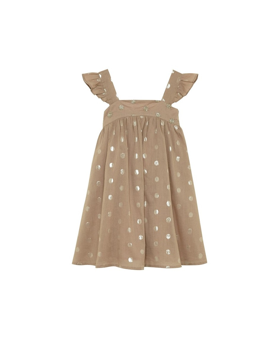 Calypso Dress - Mushroom