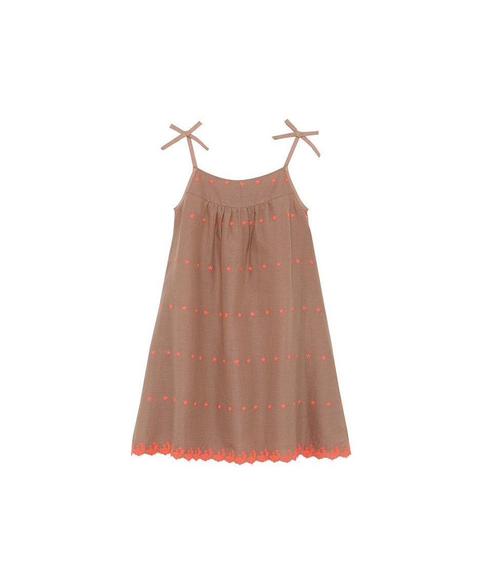 Island Girl Dress - Mushroom