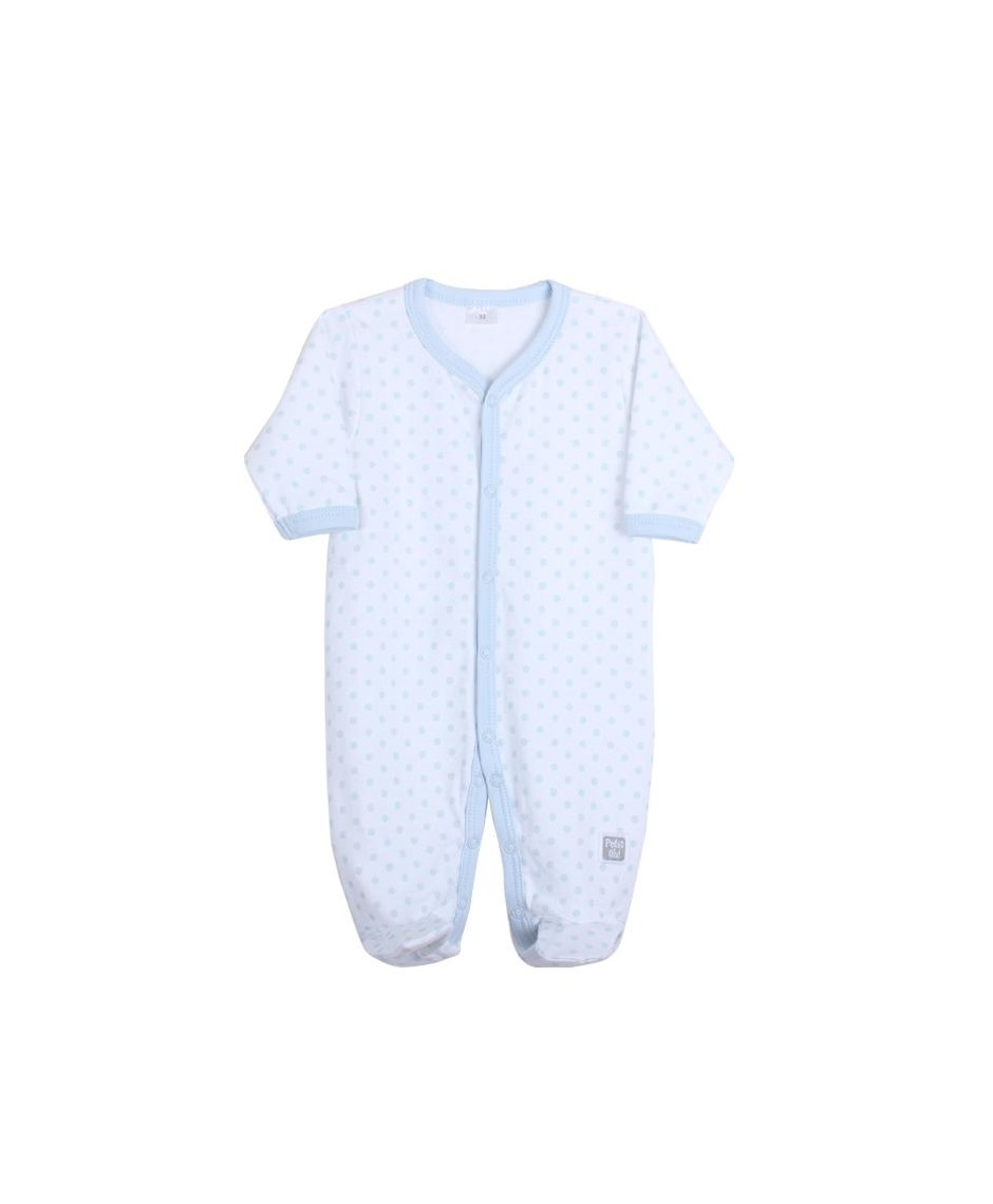 PETIT OH Pijama blue topos