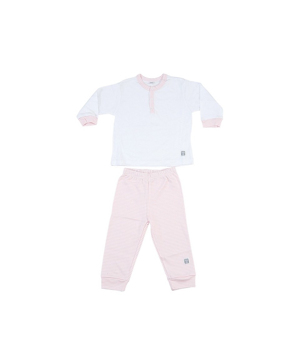 PETIT OH PIJAMA TWO PARTS PINK