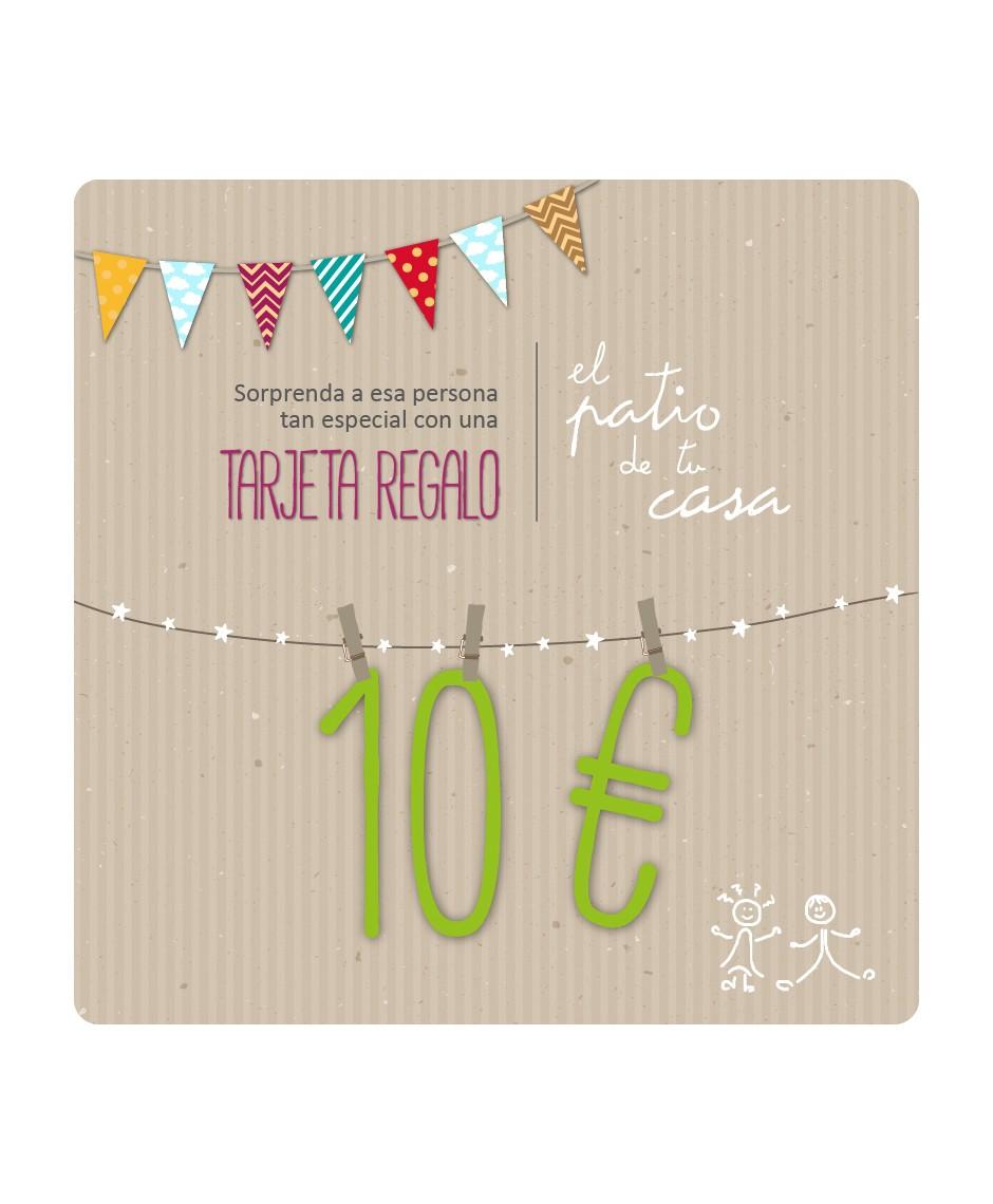 TARJETA REGALO 10 €