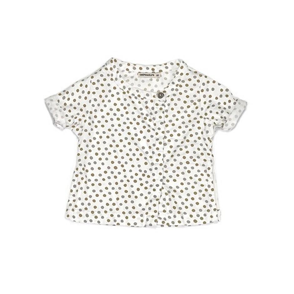 Camisa MC lunares
