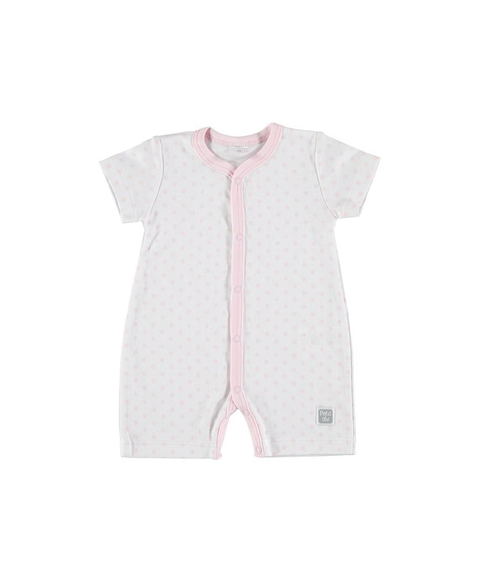 PETIT OH Pijama Verano Topo/pink