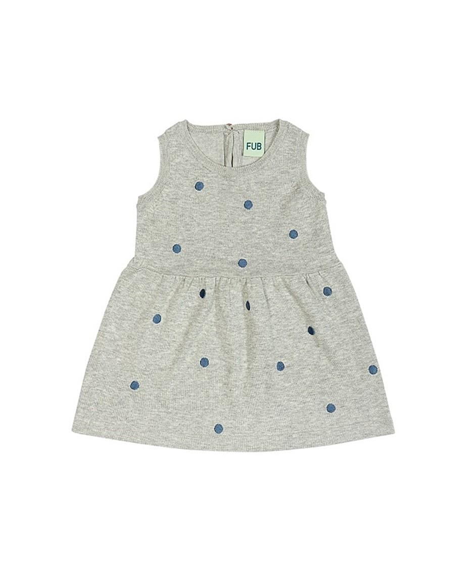 Baby Dress Grey