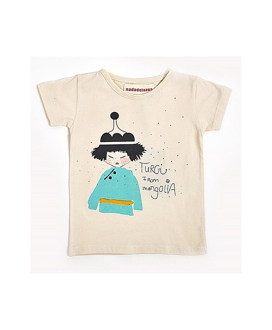 Camiseta Turgi / Crudo
