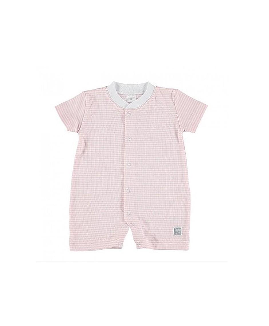 Pijama Verano Rayas / Rosa