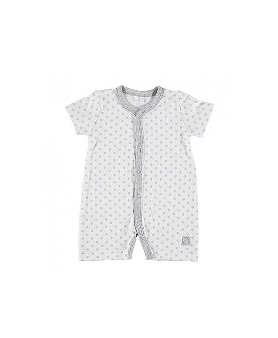 Pijama Verano Topo / Gris