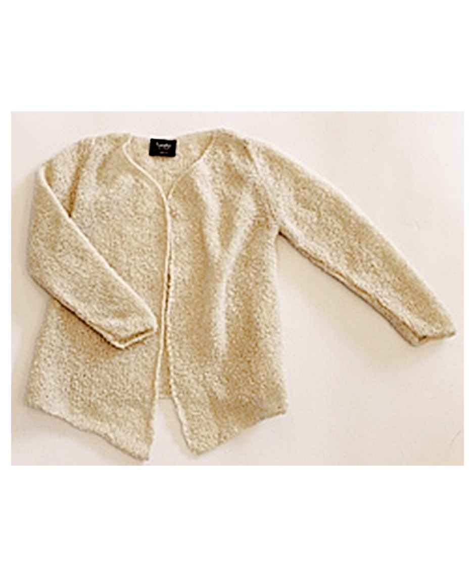 Girl jacket tricot