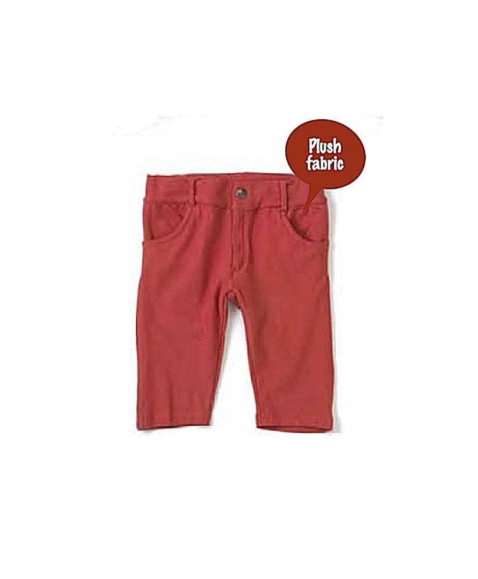Strech jean short (orangered)