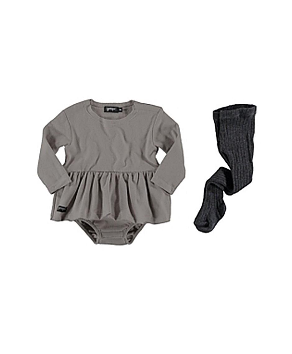 Bicolor dress (rayas)