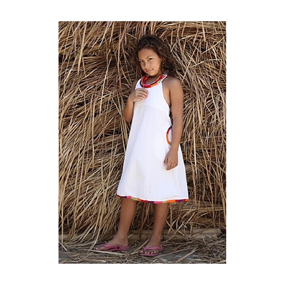 PERLIMPINPIN WHITE DRESS