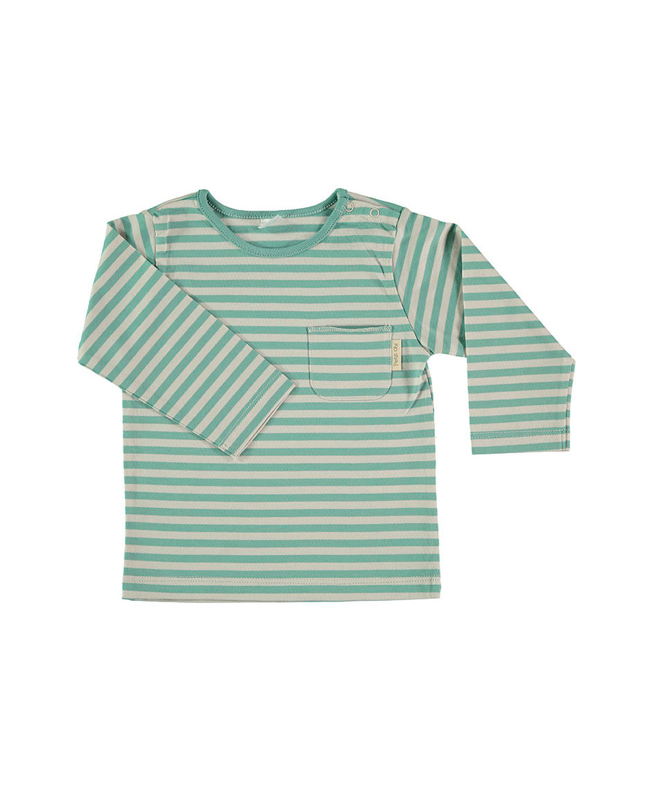 PETIT OH T-SHIRT TAN TAN GREEN
