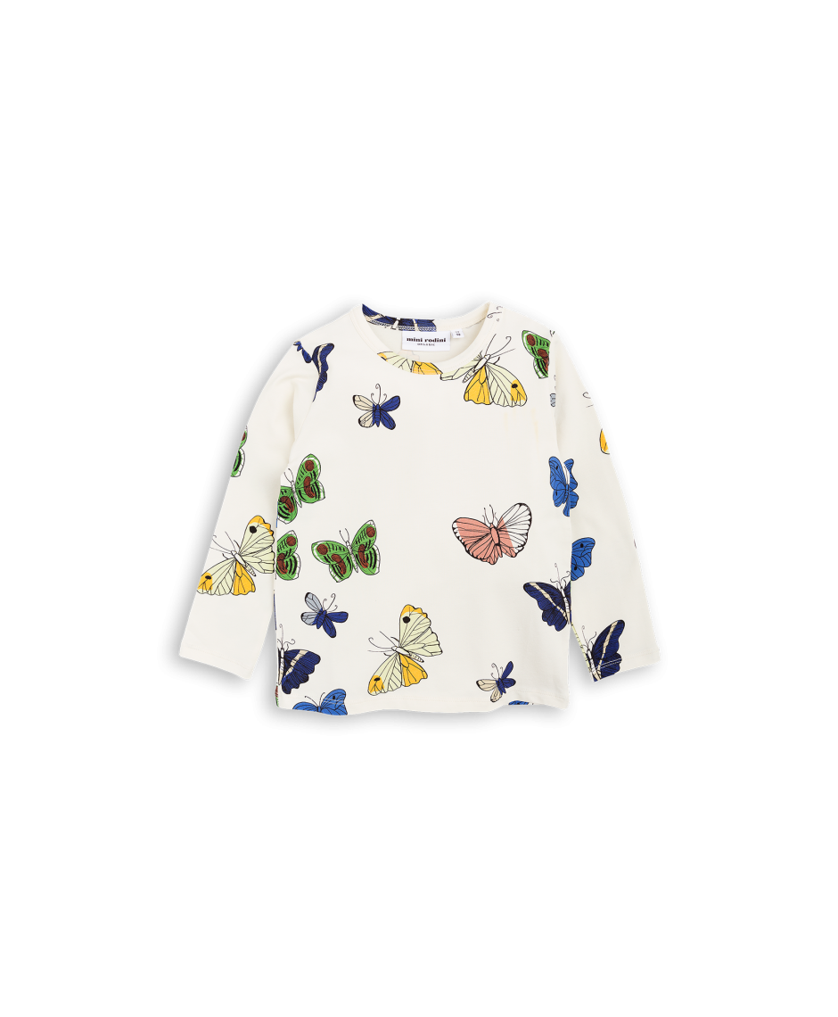 MINI RODINI T-SHIRT BUTTERFLIES