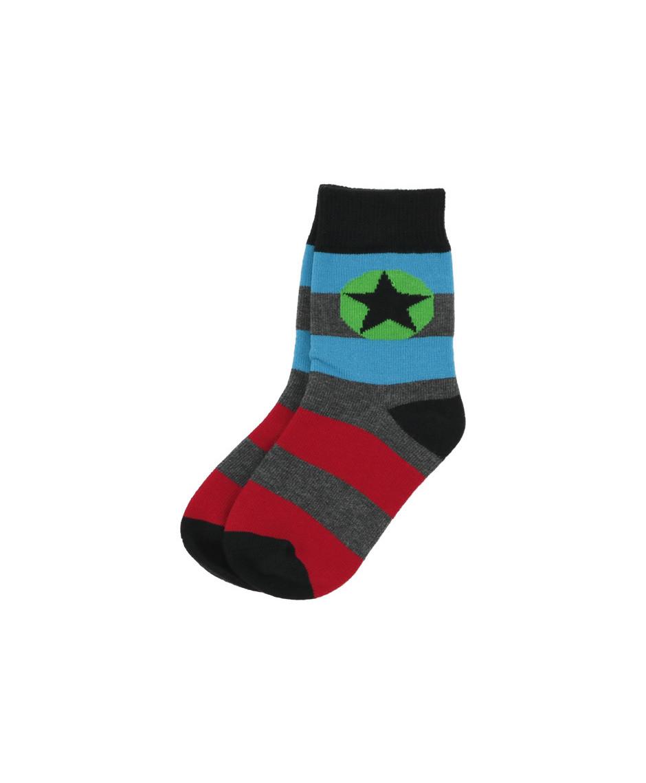 Villervalla socks PAPRIKA MOSAIC