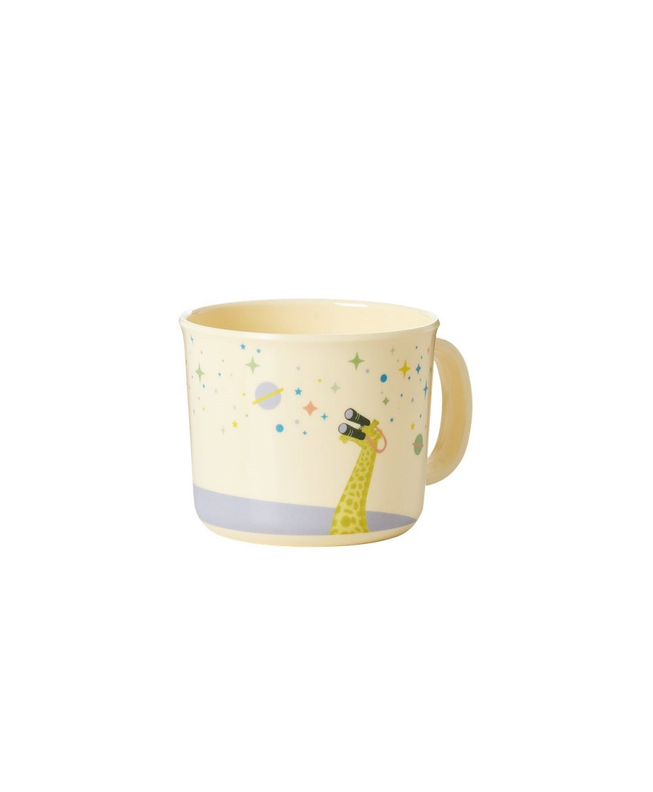 Rice baby melamine cup universe