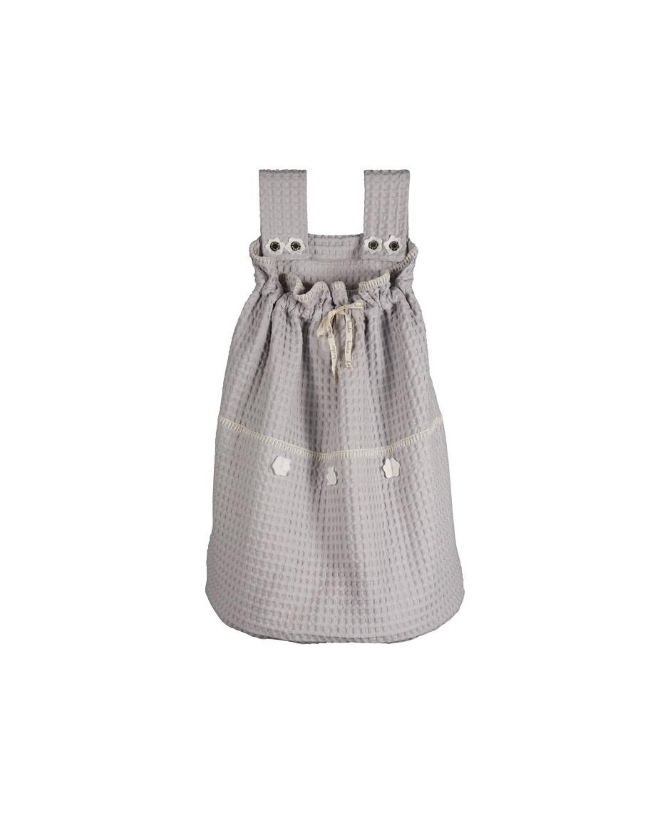 Koeka bolso silver/white