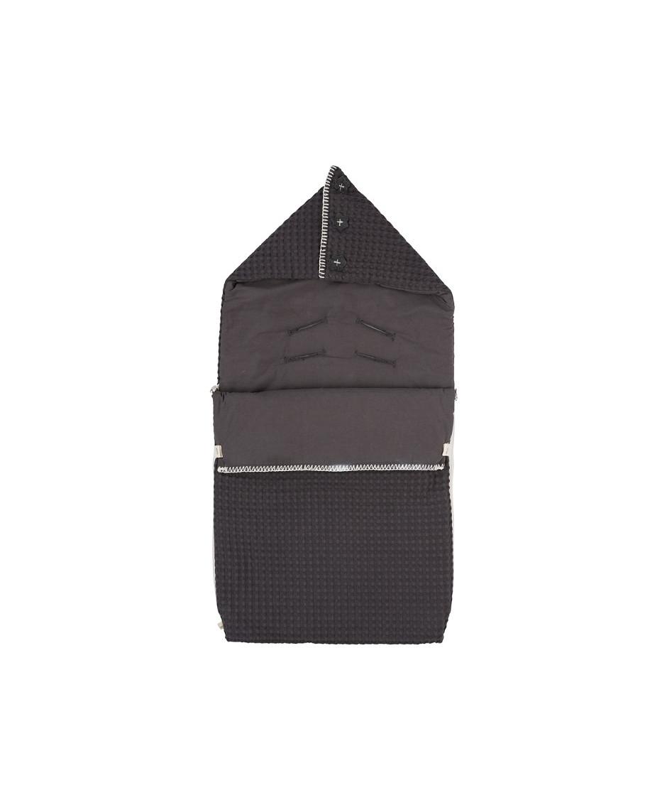 Koeka saco silla bebé gris oscuro