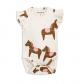 MINI RODINI BODY BABY HORSE PINK