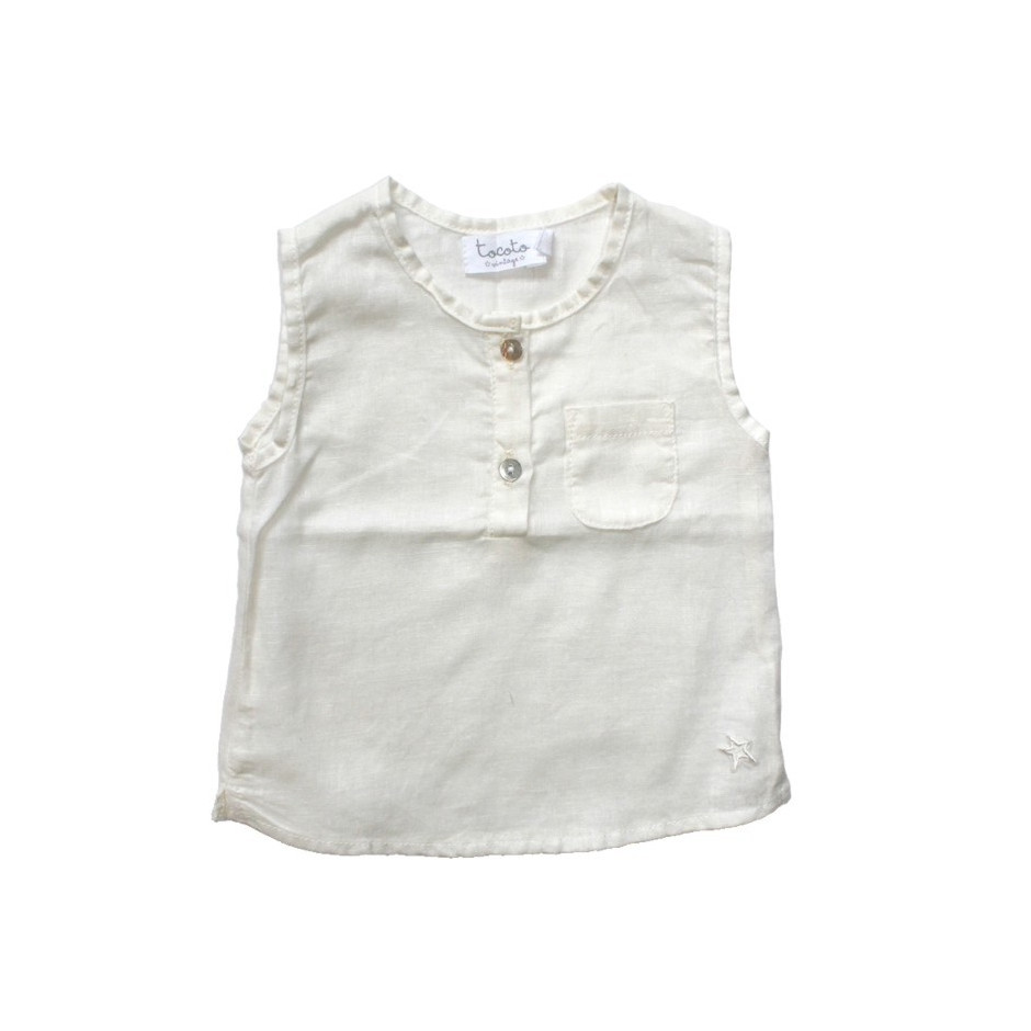 TOCOTO BLOUSE OFF WHITE