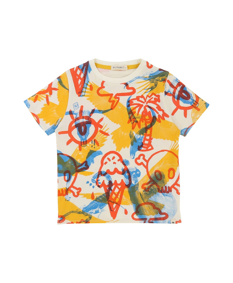 BILLYBANDIT T-SHIRT MULTICOLOR