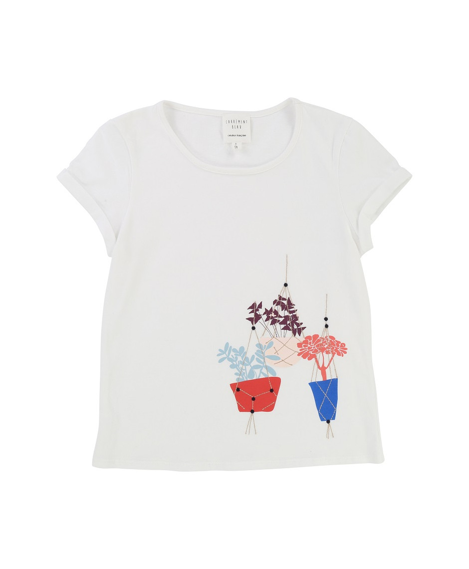 CARRÉMENT BEAU T-SHIRT OFF WHITE
