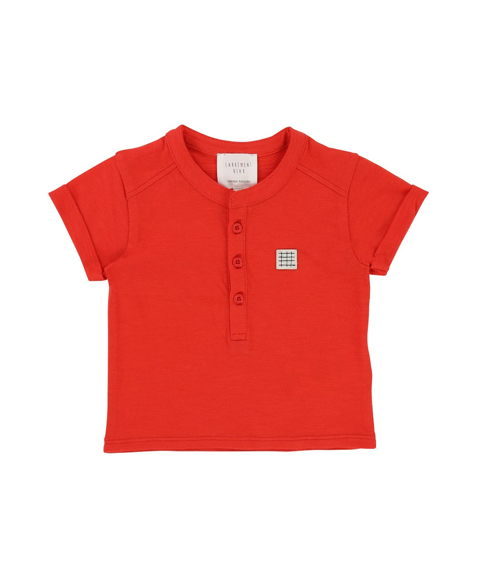 CARRÉMENT BEAU T-SHIRT ORANGE
