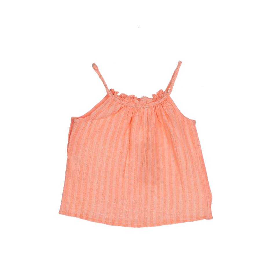 PLUMETI RAIN DRESS BABY PAPAYA