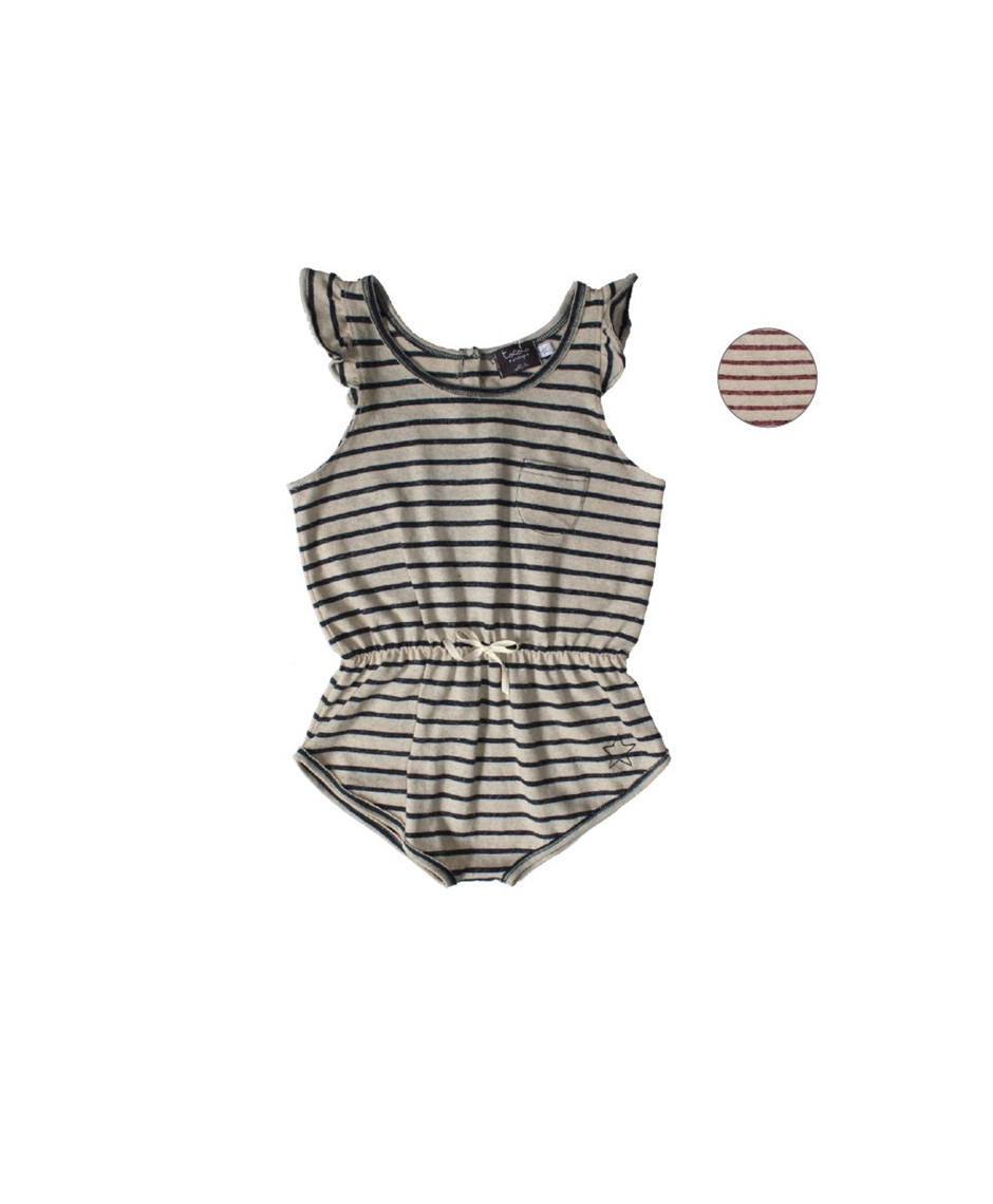TOCOTO KNITTING STRIPED GIRL BODY