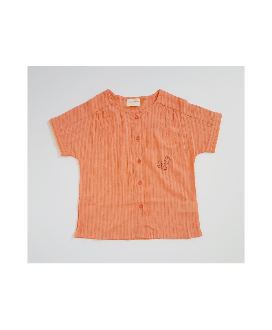 PLUMETI RAIN T-SHIRT PAPAYA