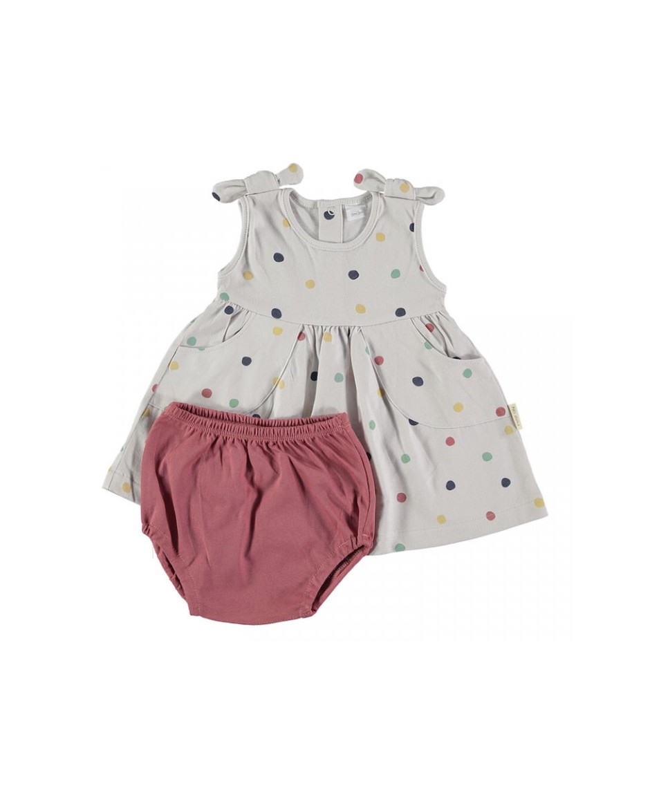 PETIT OH DRESS BLOOMER CONFETTI