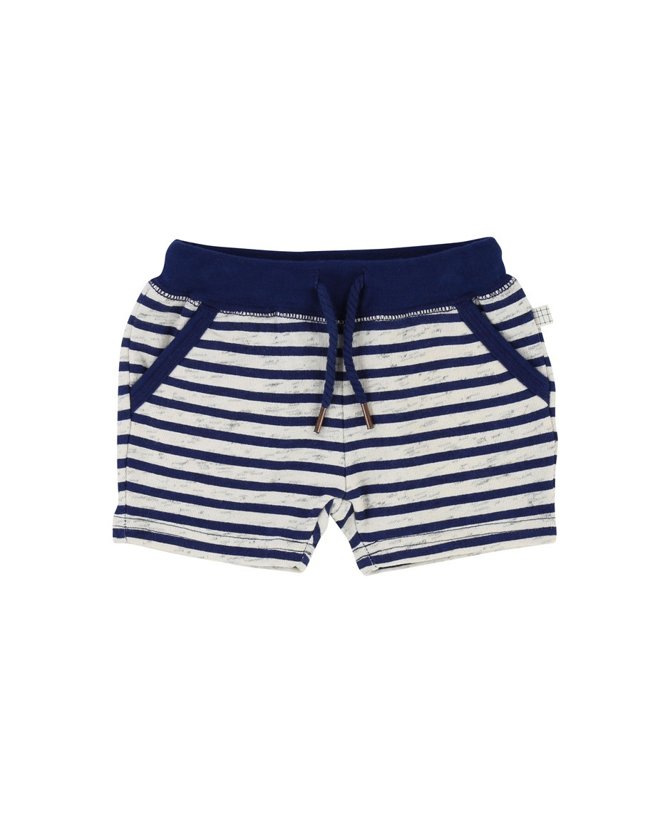 CARRÉMENT BEAU SHORT OFF WHITE - BLUE