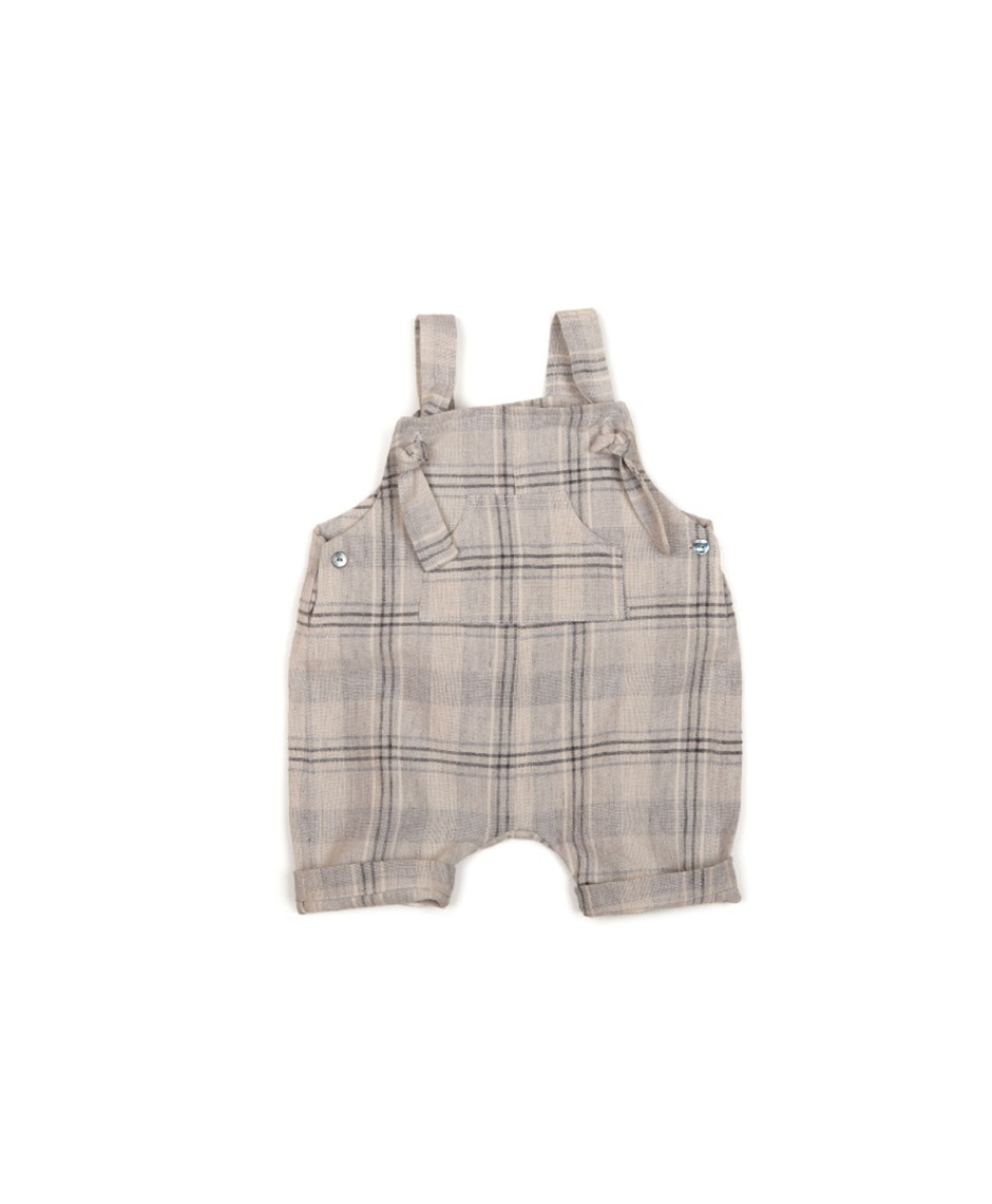 MESSAGE BERMUDA OVERALLS GREY